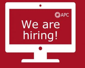 Call for applications to work with APC: Global policy advocacy project coordinator
