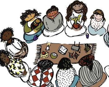 Our routes: Women's node - an illustrated journey of women in community networks