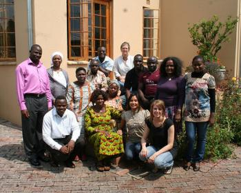 GenARDIS round III grantees at the final workshop in Johannesburg