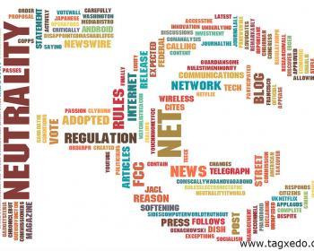 Net Neutrality News Tag Cloud, by Sean Weigold Ferguson Seguir on our Flickr