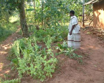 Female telecentre user from rural Uganda