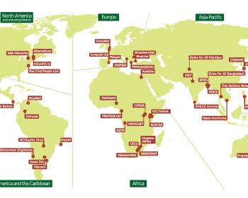 Member map 9/2014