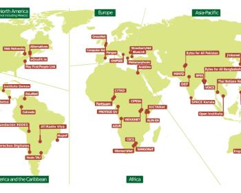 APC members by region November 2015