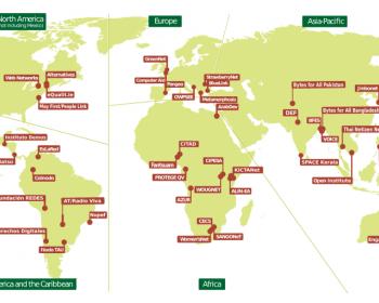 Member map 1/2015