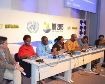 African Internet Rights. Whose rights are these anyway?, at IGF 2015.