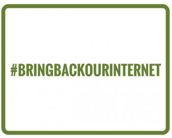Bring Back our Internet