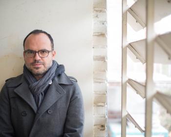 Hossein Derakhsan in Teheran, 2015.