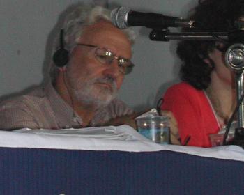 Carlos Afonso at WSF 2003