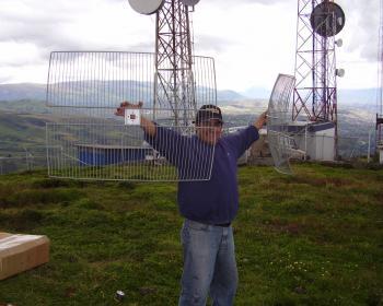 Wireless project in Putzalahua / Tricalcar