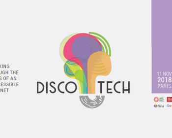 Disco-tech Paris: Join us in this pre-IGF event on disability and accessibility to the internet