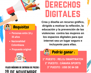 Diseños para sensibilizar y prevenir violencias digitales contra las mujeres