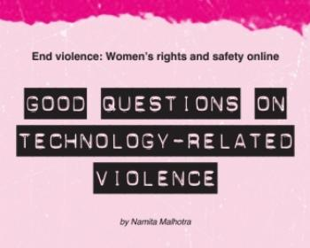 Good questions on technology-related violence