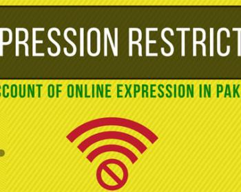Expression Restricted: An Account of Online Expression in Pakistan