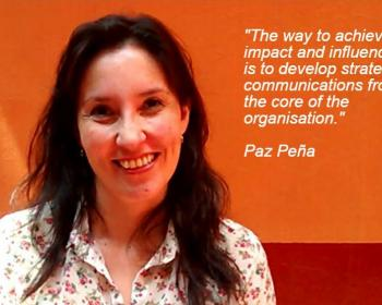 What is your organisation's DNA? An interview with Paz Peña on strategic communications for advocacy