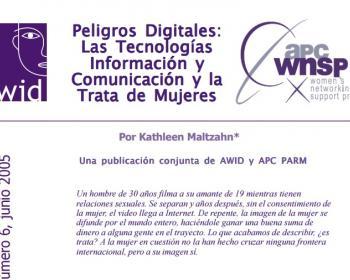 Peligros digitales: las tecnologías de información y comunicación y la trata de mujeres