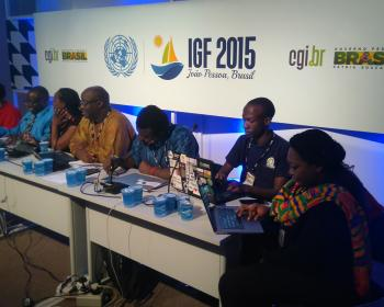 African Internet Rights. Whose rights are these anyway?, at IGF 2015