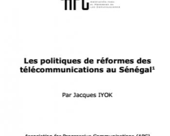 Les politiques de réformes des télécommunications au Sénégal