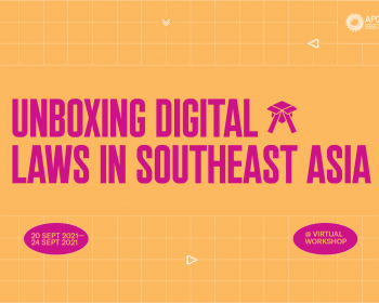 Internet Rules: Unboxing digital laws in Southeast Asia 2021