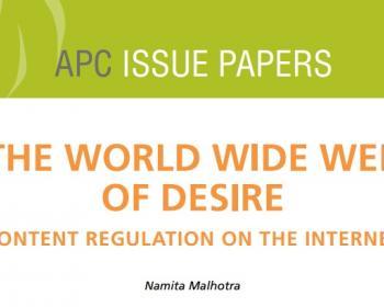 La red mundial del deseo: regulación de contenidos en internet