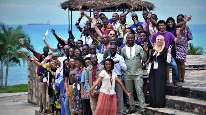 AfriSIG 2018 group photo.