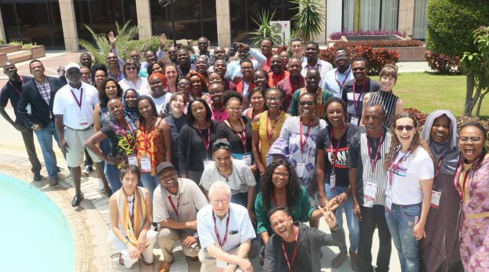 The fellows and faculty of the AfriSIG class of 2019.