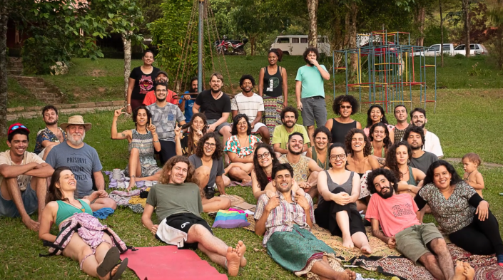 Image: Coolab Camp, an event held in November 2019 in Monteiro Lobato, São Paulo.