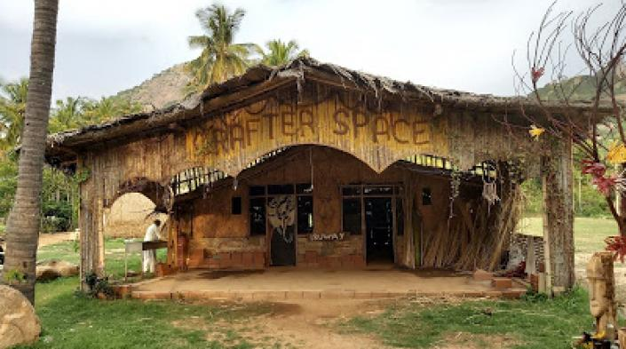 The Crafter Space at Halekote, India, a partner of the Janastu community mesh radio network. Photo: Sarbani Banerjee Belur