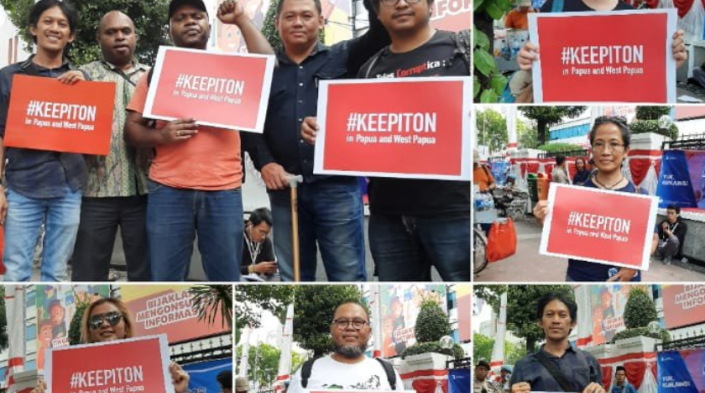 Students demand to #keepiton. Image credit: Damar Juniarto. Used via EngageMedia under CC BY 4.0 licence.