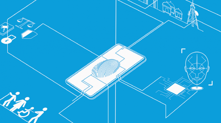 Detail from the cover of the Secretary General's Roadmap on Digital Cooperation