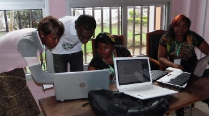 During Software Freedom Day. Source: PROTEGE QV