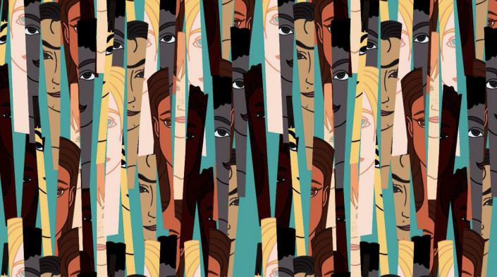 Untitled, bystournsaeh(2019) Image courtesy:https://www.zai.net/articoli/interviste/17145904/Diversi-ma-uguali