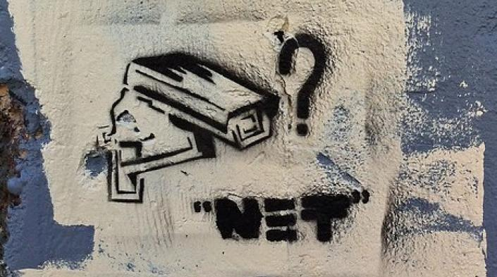 """Surveillance State"" by wiredforlego, used under CC BY-SA 2.0 licence (https://flic.kr/p/aR6b8B)"