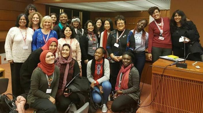 Image of the 2017 IGF workshop: Redefining rights for a gender inclusive networked future.