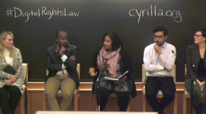 Image: Screenshot taken from the panel video.