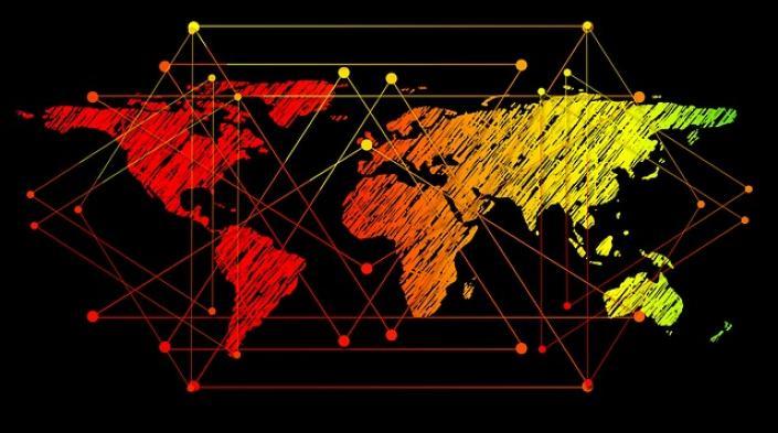 Imagen de Gerd Altmann usada con licencia Pixabay (https://pixabay.com/photos/globe-network-connectedness-connect-2679754/)