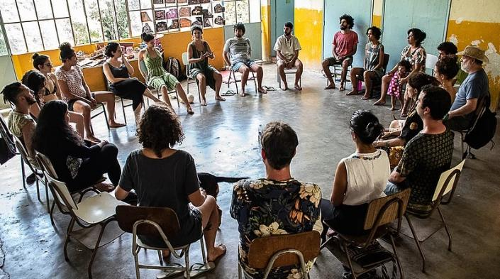 Image: Coolab camp 2019,courtesy of Monique Cabral.