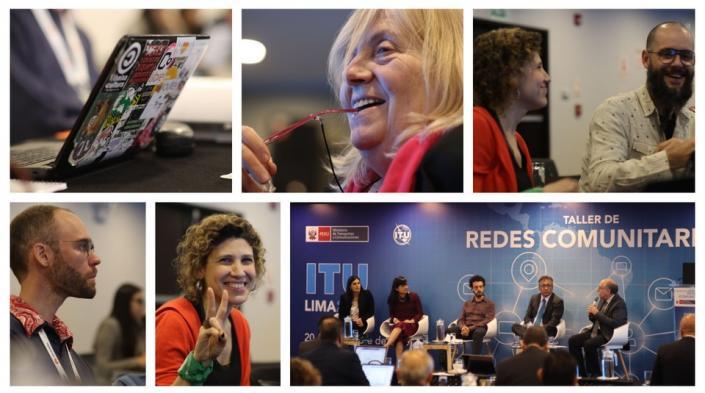 Image: Community Networks workshop atUIT,courtesy of Altermundi.net.