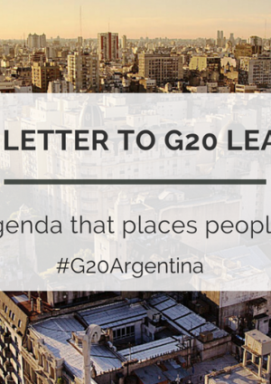 Joint call to G20 leaders: Let us bring people to the centre of the digital future