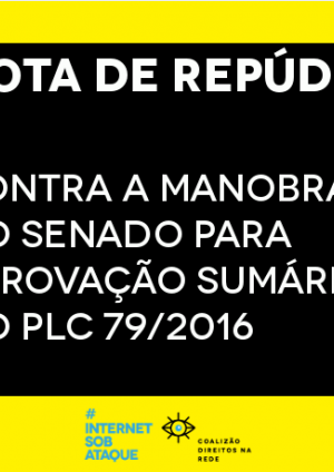 On the attacks of the Temergovernment against the Internet Steering Committee in Brazil