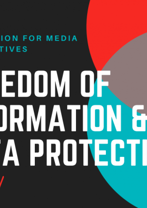 Foundation for Media Alternatives: Freedom of Information and Data Protection in the Philippines