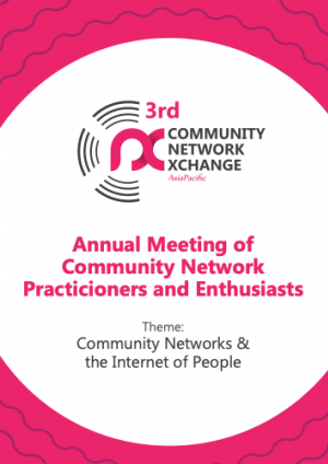 CNX 2019 Report: Community Networks and the Internet of People
