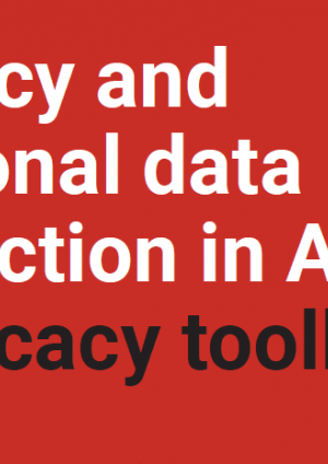 Privacy and personal data protection in Africa: Advocacy toolkit