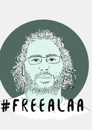 #FreeAlaa: Freedom for our courageous friend and human rights defender, Alaa Abdel Fattah