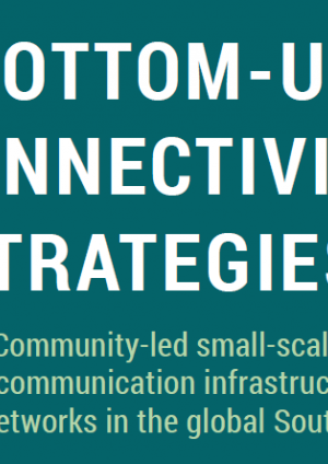 Bottom-up Connectivity Strategies: Community-led small-scale telecommunication infrastructure networks in the global South