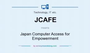 Japan Computer Access for Empowerment (JCAFE)